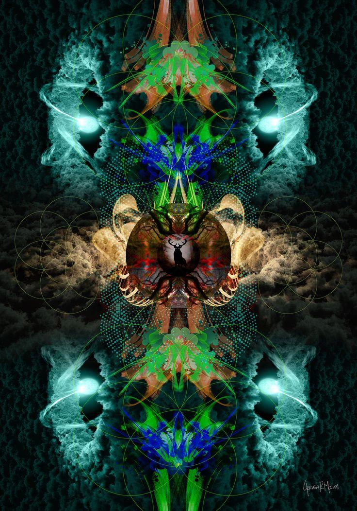 Dark Forest 3 Arte Digital German Molina - Tamaño 100 x 70 cms - Papel Fotográfico sobre marco de madera - Disponible para venta - Info: advisioncolombia@gmail.com psicovibe#psicodelicavibe #psychedelic #psychedelics #psychedelicart #shrooms #mushrooms #dmt #acid #lsd #marijuana #maryjane #420 #trippy #thirdeye #illusion #fantasy #spiritual #spirituality #meditation #psychedelicdj #hippie #universe #galaxy #space #stars #moon #goodvibes #peace #love #art