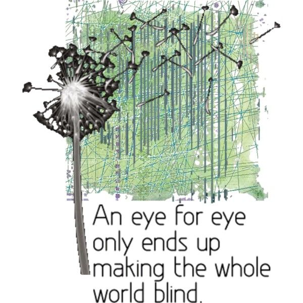 An Eye for An Eye, created by cindieponabri