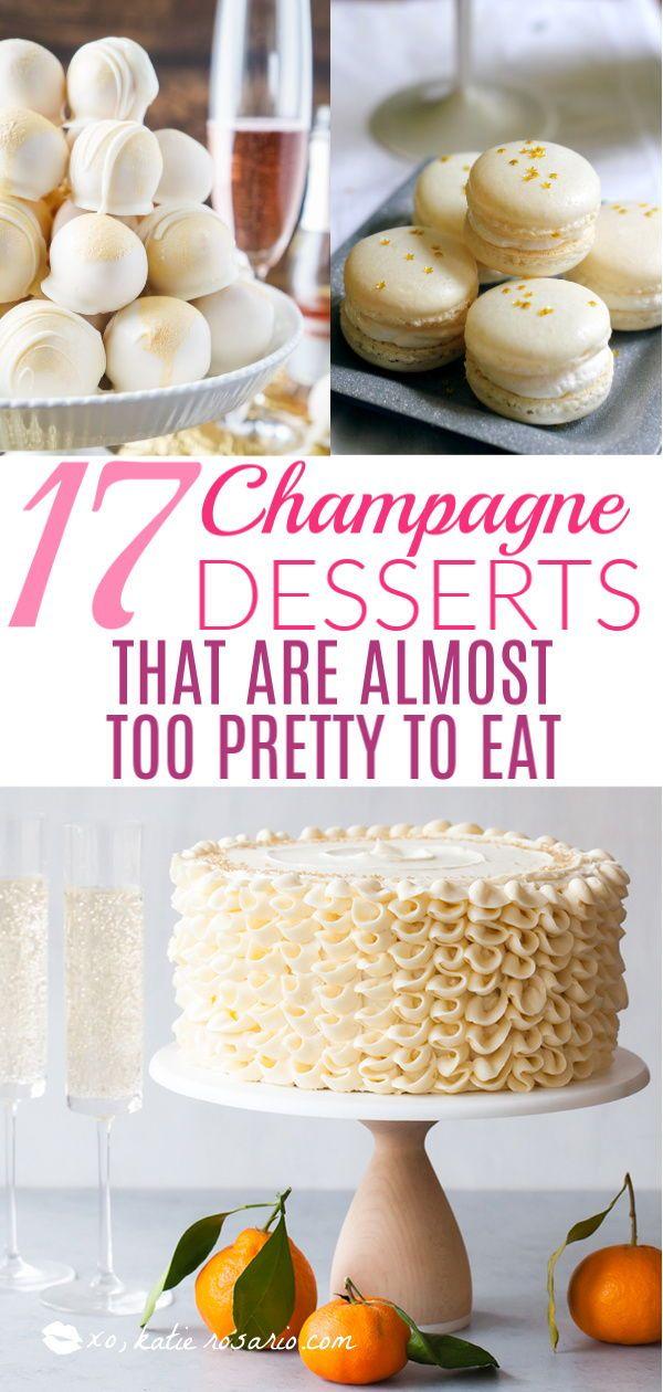 champagne dessert recept