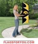 "Iowa Swooper Flag Kit 42"" x 13"""