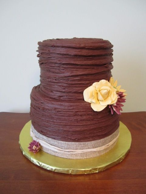 Simple Round Cake Images : 50 best images about Rustic wedding cake ideas on ...
