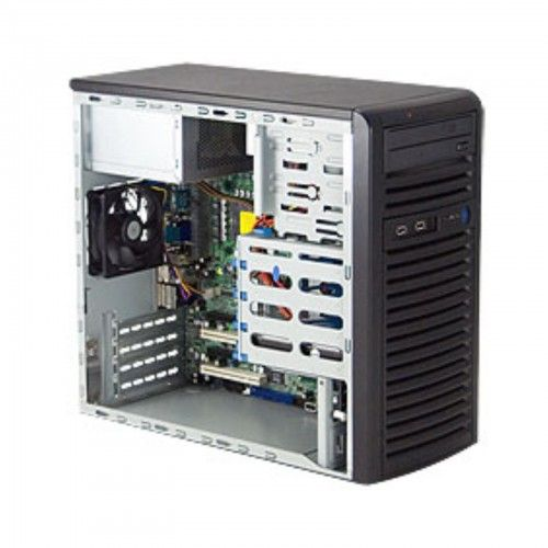 SM05-1/30-PED-E31230V3/32GB/4BAY  • Pedestal Chassis 300W PSU • 4x 3.5″ SATA Fixed Internal Drive Bays • Intel Xeon E3-1230V3 3.3GHz Quad-Core 8MB 1150 • 32GB DDR3-1600 UDIMM • 2x WD 1TB Enterprise Drives (RAID 1 for OS) • Assembly & Testing Included (48Hrs)