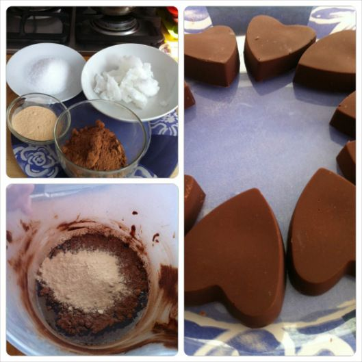 Coconut butter based raw chocolate recipe
