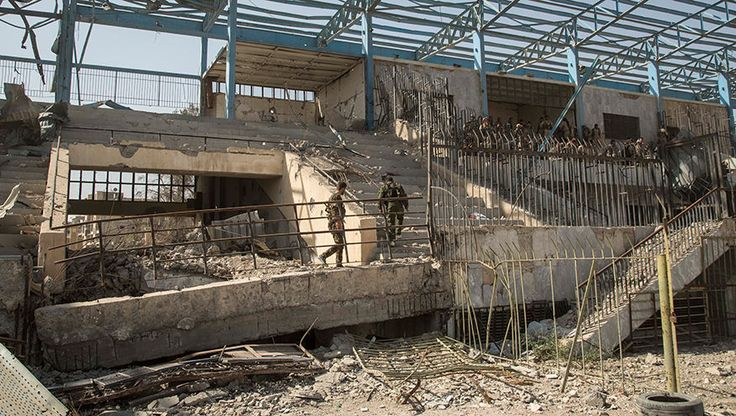 FOX NEWS: Inside ISIS' coliseum of death: Syria sports stadium converted to killing field
