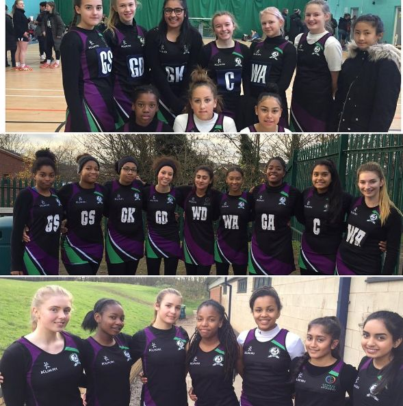 Well done to all our girls who represented George's on Saturday at the County Netball Championships!