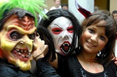 Фото разных костюмов на хелоин страшных