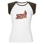 Anybody Want A Peanut? Women's Cap Sleeve T-Shirt