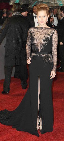 Amy Addams in Ellie Saab