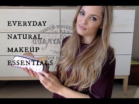 Everyday CLEAN and NON TOXIC Makeup Essentials