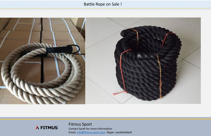 Battle Rope | Training Rope | Cross fit Box Rope  on sale from Fitmus Sport