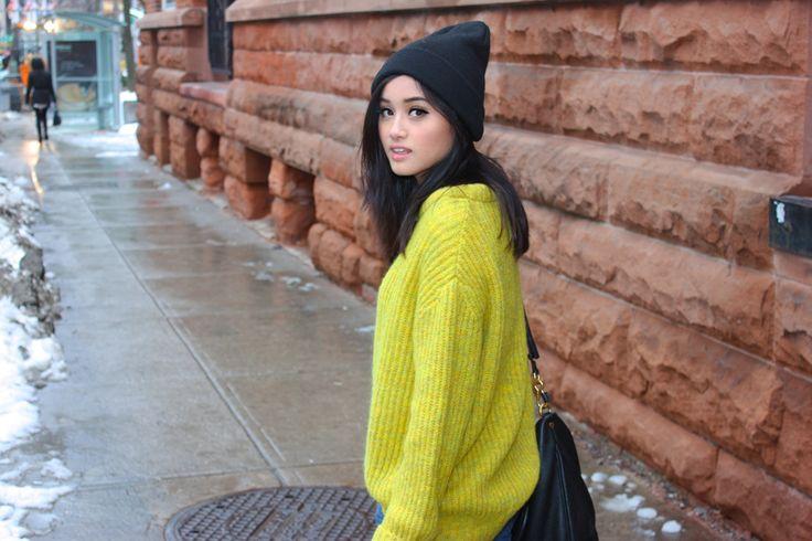 Zara crew neck sweater