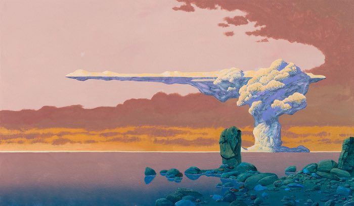 The weird worlds of Roger Dean, prog rock's artist in residence | Music | The Guardian