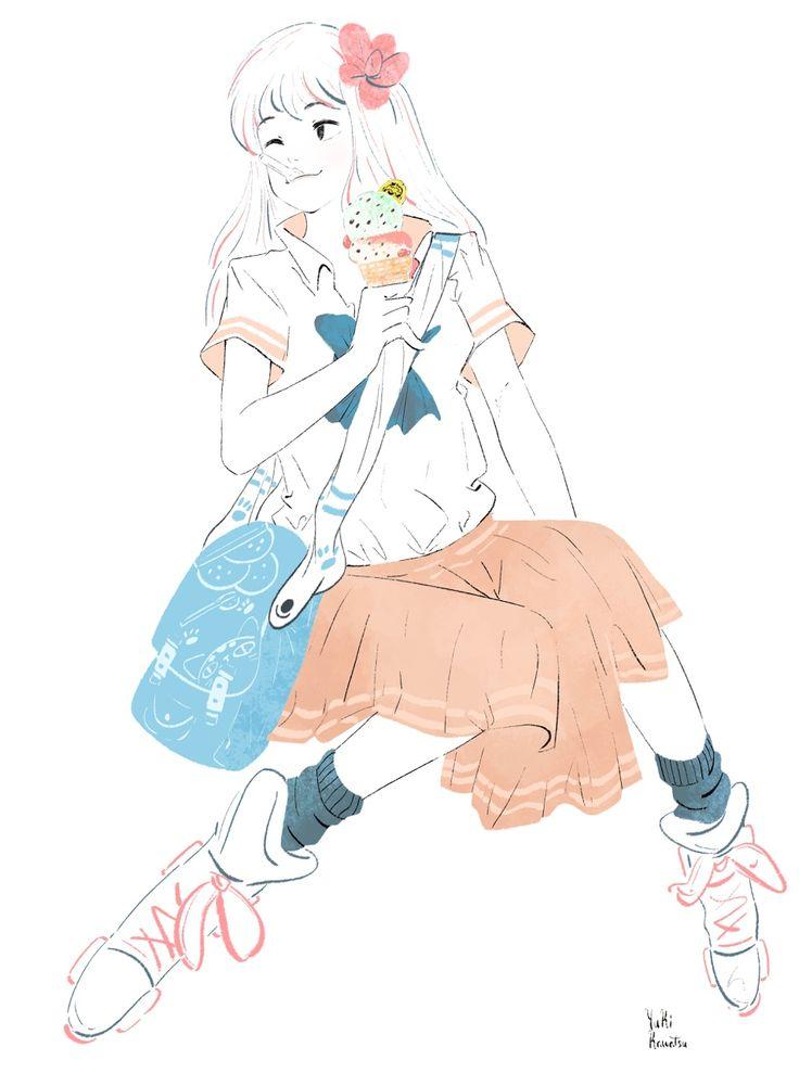 Yuki.Kawatsu Illustration : 画像
