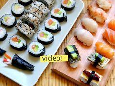 como hacer sushi casero