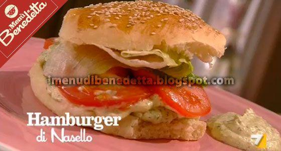 Hamburger di Nasello di Benedetta Parodi