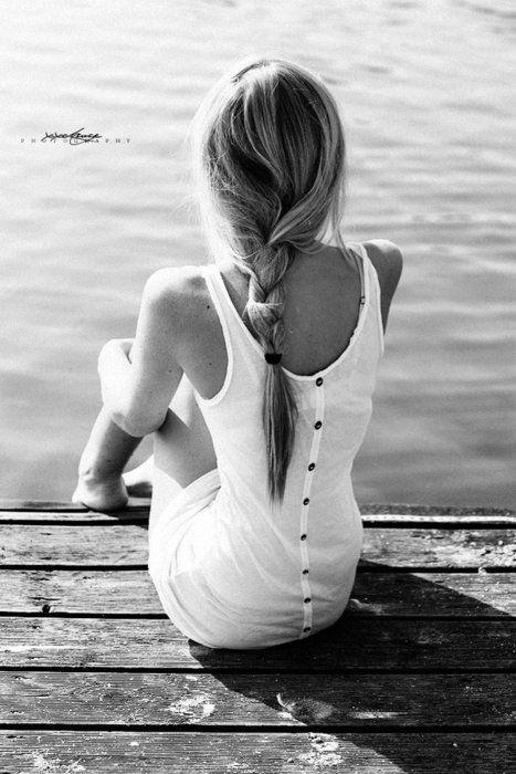 dock sitting