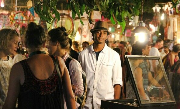 Saturday night market, Goa