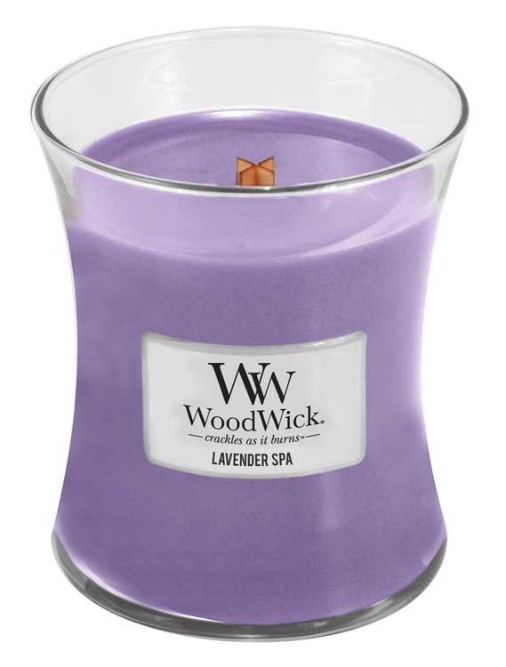 Lavender Spa Woodwick Medium Candle