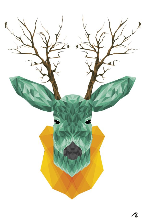 Venado by Eduardo Amador, via Behance