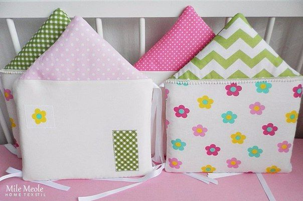бампер-подушки для кровати ребенка