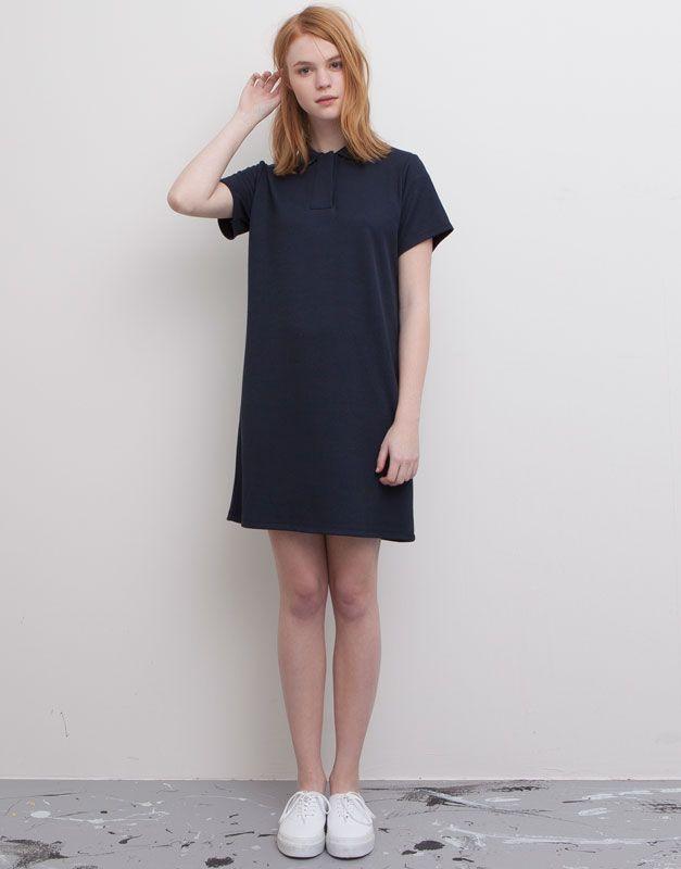 :STRIPED DRESS