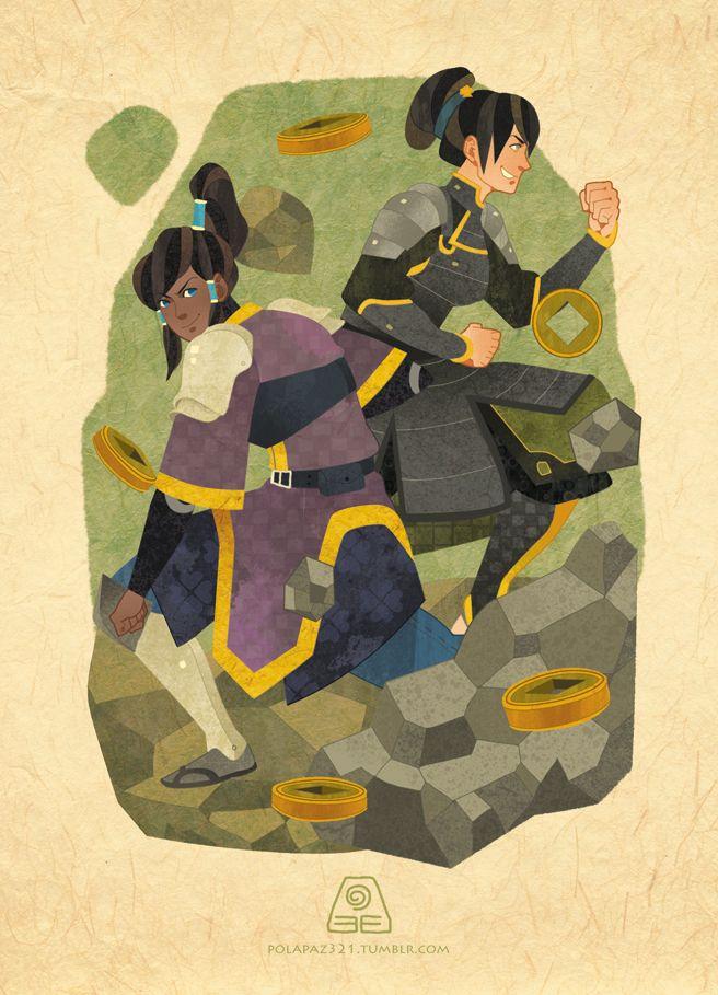 IsisT, Avatar: The Last Airbender, Avatar: The Legend of Korra, Toph Bei Fong, Korra, Nickelodeon