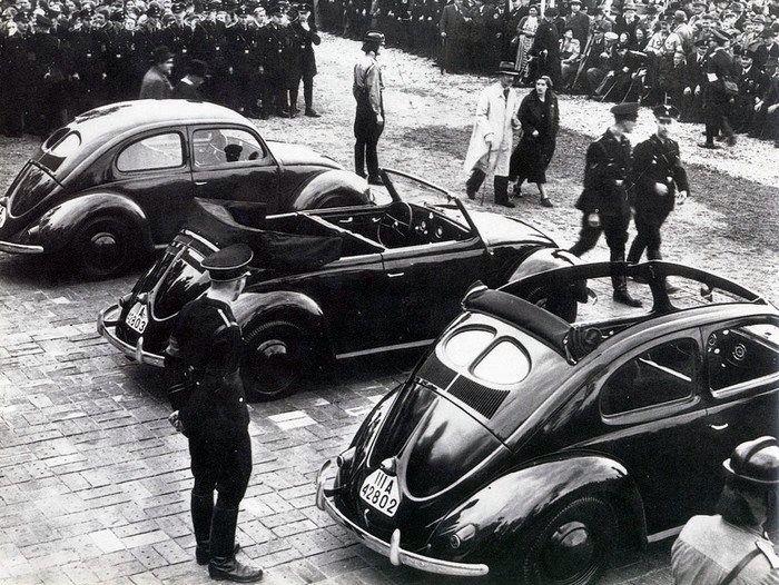 VW bug unveiling: