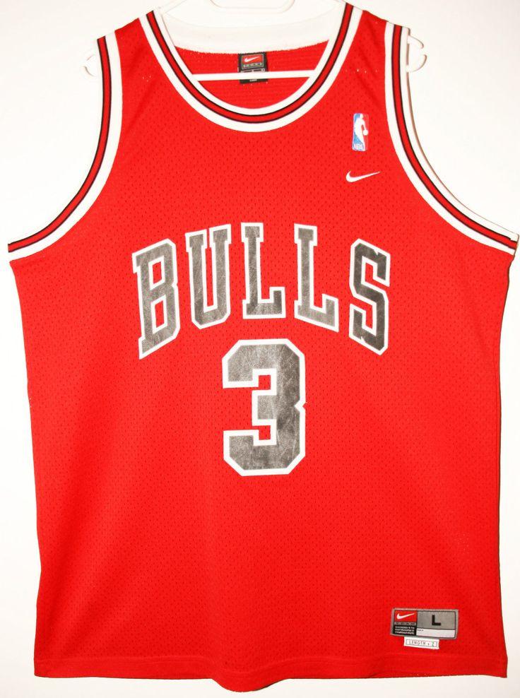 Nike NBA Basketball Chicago Bulls #3 Tyson Chandler Trikot/Jersey Size 44 - Größe L - 89,90€ #nba #basketball #trikot #jersey #ebay #sport #fitness #fanartikel #merchandise #usa #america #fashion #mode #collectable #memorabilia #allbigeverything