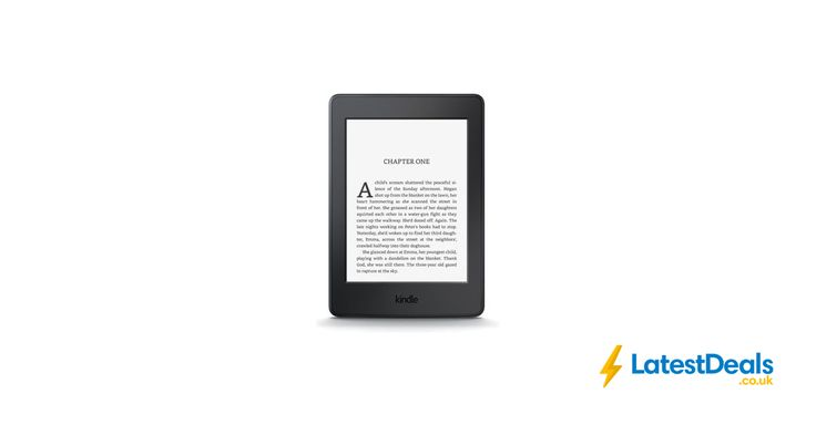 AMAZON Kindle Paperwhite eReader Free Delivery, £79.99 at PC World