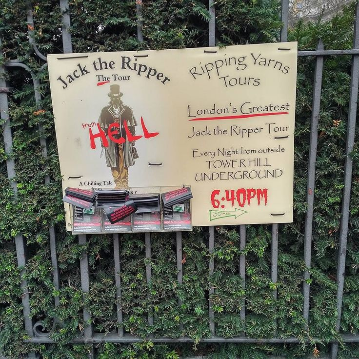 Don't miss the #jacktheripper tours at #towerhill #underground #tubestation in #London we did miss it even though we stayed at #towerhill . No tours during #christmas by shakercherukuri