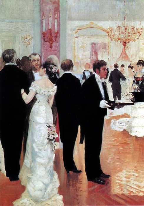 Jeanger Jean Beraud - The Wedding Reception