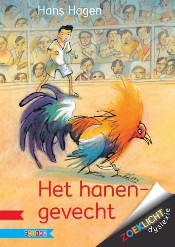 Het hanengevecht herschreven voor de leesserie Zoeklicht dyslexie. Andere titels: Griezelbus 1, De regels van Floor, ff dimmen.