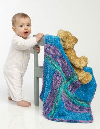 1000+ images about knit baby blankets on Pinterest Yarns ...