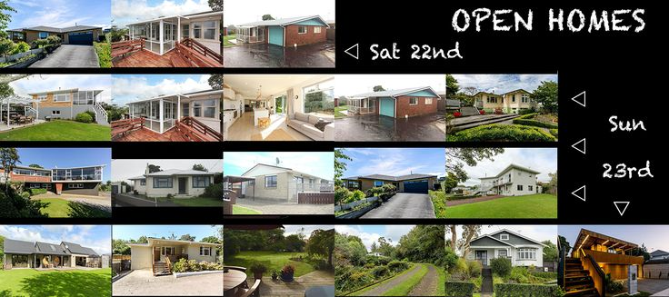 Open homes this weekend from left to right: Saturday the 22nd: 17 Shelter Grove, Frankleigh Park 1:00-1:30pm | 1A Wallace Place, Westown 2:00-2:30pm | 191 South Road, Spotswood 3:00-3:30pm Sunday t…
