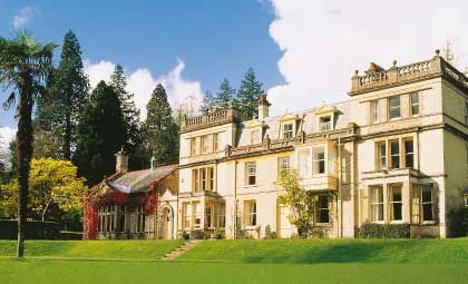 Holne Park House, Ashburton, Dartmoor, Devon. Built between 1885|1906.