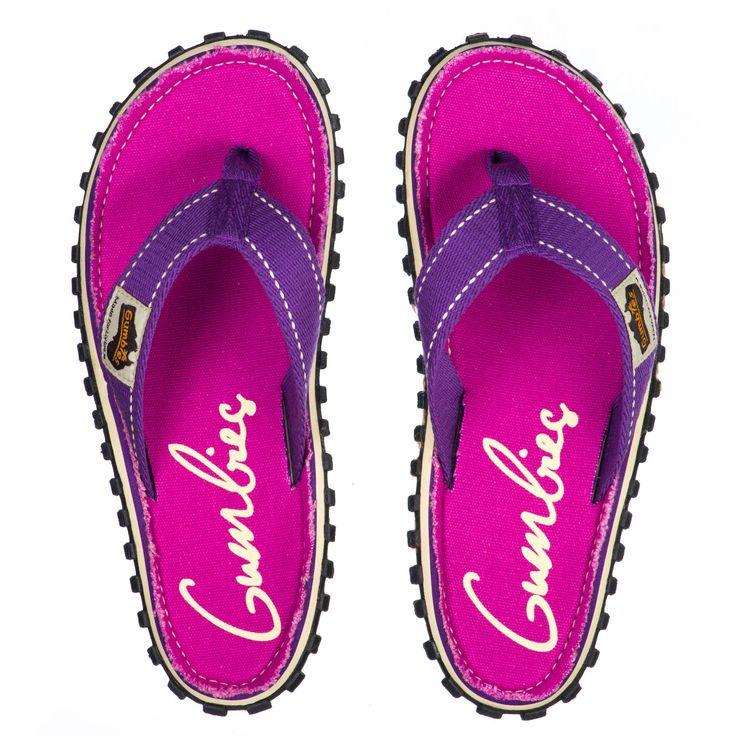 Gumbies Black Zehentrenner Flip-Flops Sandale schwarz