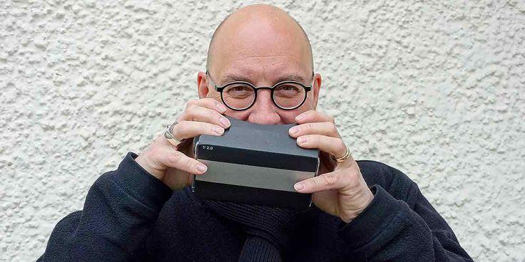 Interview. Professor Michael Stoll lehrt an der Hochschule Augsburg Informationsdesign und Medientheorie.  Mit ihm sprechen wir darüber, welches Potenzial Virtual Reality für die Visualisierung von Daten hat.