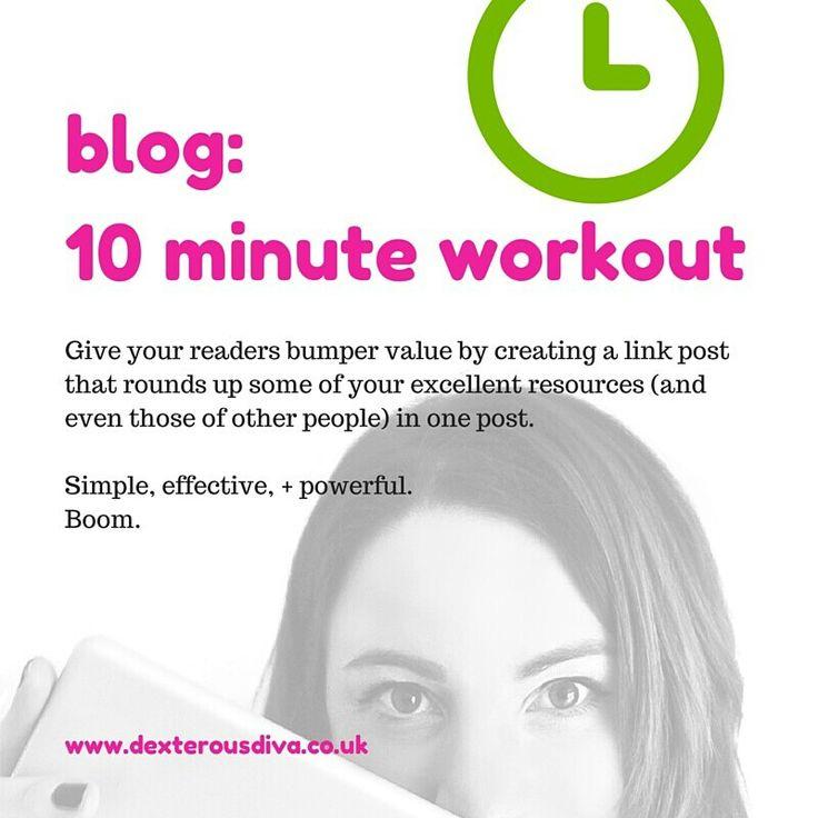 Round it up! #divasdaily10 #10minuteworkout www.dexterousdiva.co.uk