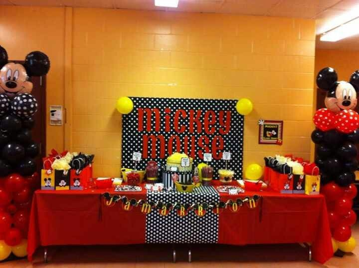 This is my 5 yr old's Mickey Party we did today. So glad it finally arrived! Happy Pinning!