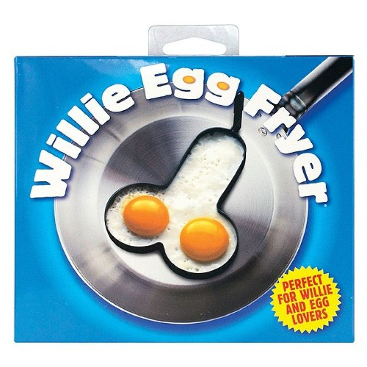 How do you like your eggs? Willy shaped? Then this is just what you need for that perfect fry up. Use this fun and egg fryer to serve up the best egg you or your partner has ever had. Guaranteed to raise a smile at breakfast.