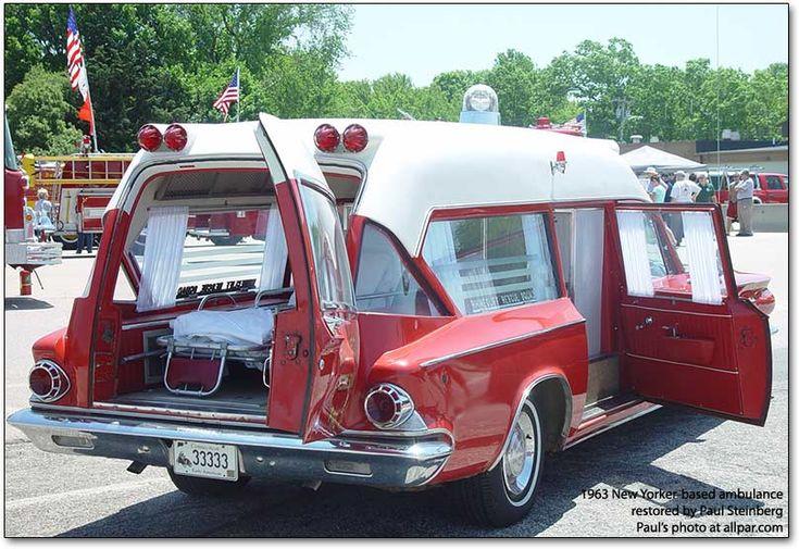 Chrysler-based Pinner ambulances