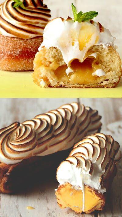Aprenda a fazer duas sobremesas irresistíveis com limão e merengue.