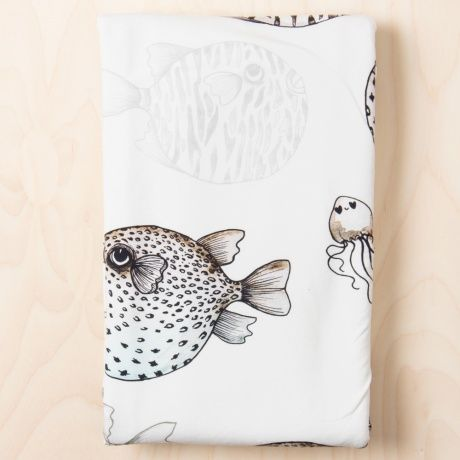 FISH BABY BLANKET. Thong would love it!