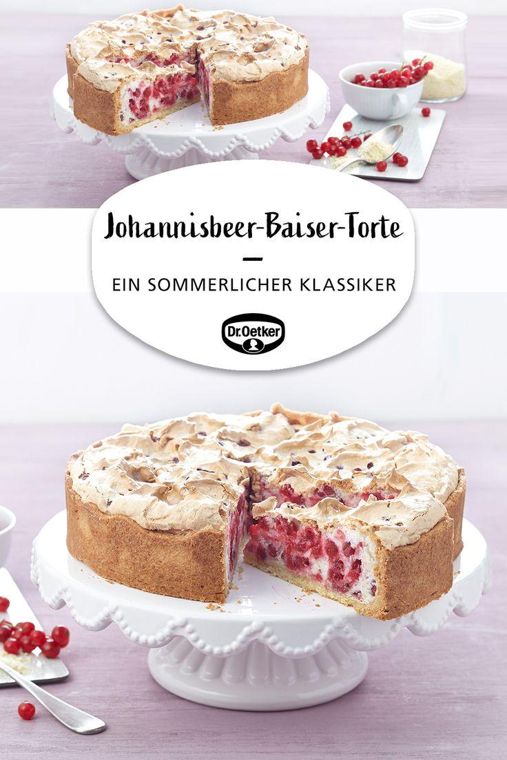 Johannisbeer-Baiser-Torte (Träublestorte)