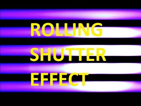 The Rolling Shutter Effect & Aliasing Explained