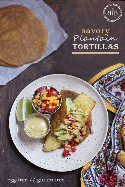 coconut crusted fish tacos with savory egg-free gluten-free and nut-free Paleo plantain tortillas