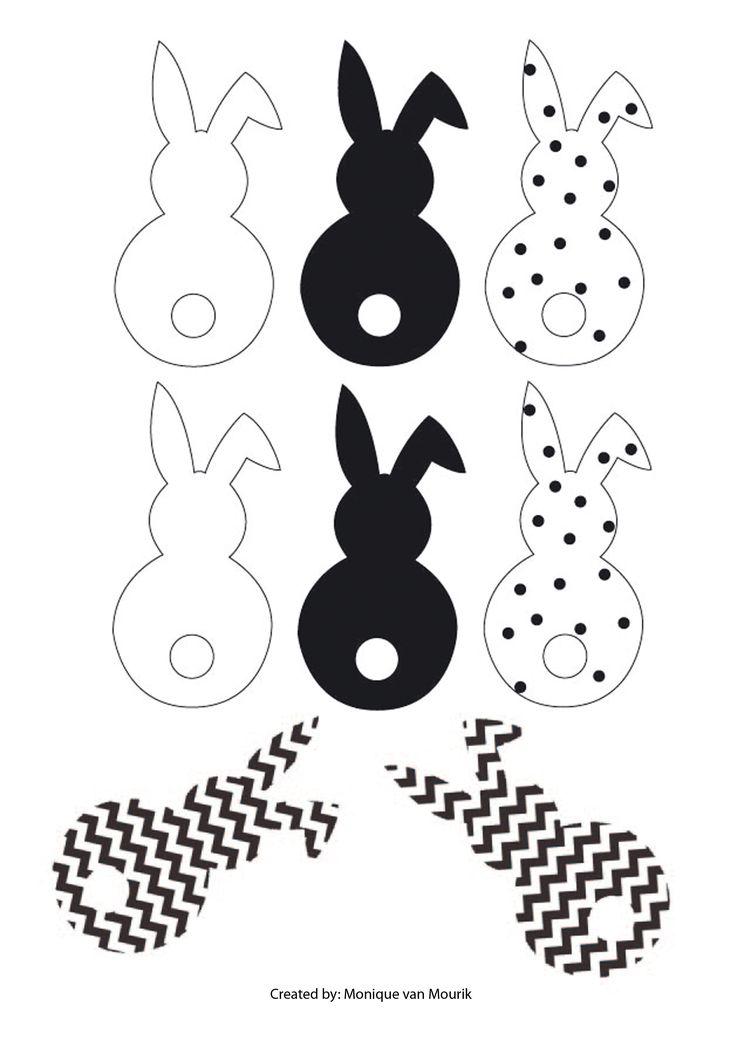 Easter - Pasen - Free printable