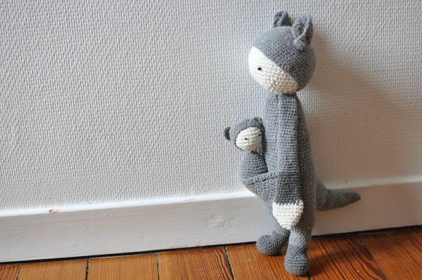 Kangourou au crochet