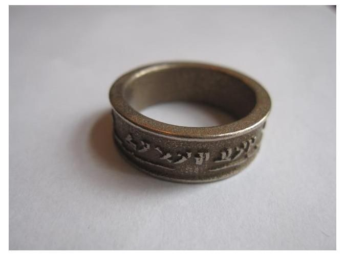 Customizable Dovahkiin Ring. Is it bad I wouldn't mind this as a wedding ring...?