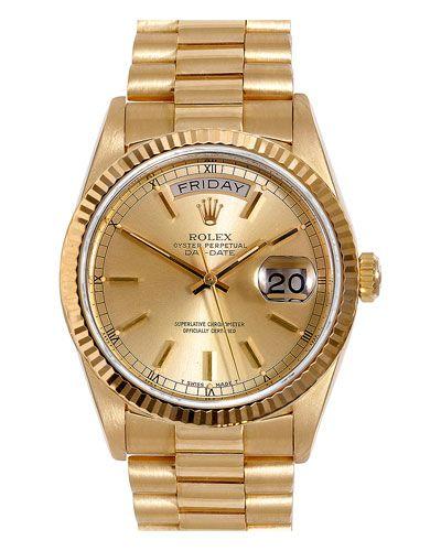 "Rolex Men's 1970s ""President"" Watch"
